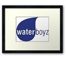 Waterboyz Framed Print