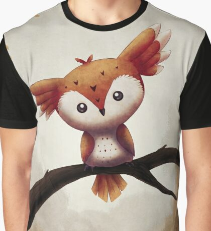 Owl Creature Graphic T-Shirt