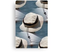 people on the beach Canvas Print