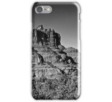 The Bell  2 Red Rock Loop Sedona BW iPhone Case/Skin
