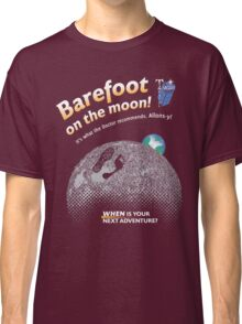 Doctor Who: Barefoot on the Moon Redux Classic T-Shirt