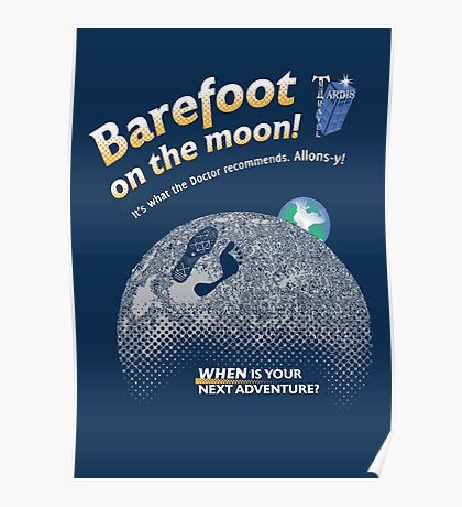 Doctor Who: Barefoot on the Moon Redux Poster