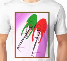 WOMENS TRACK BICYCLE: Racing Print Unisex T-Shirt
