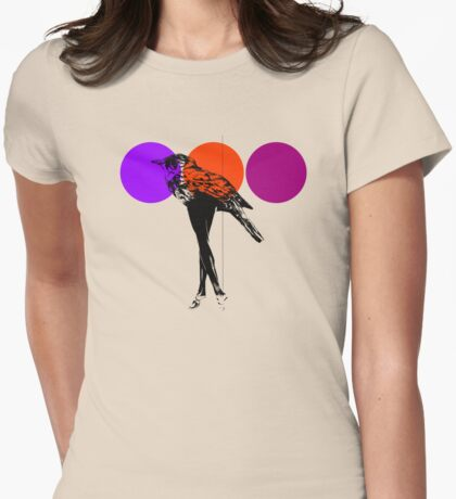 poster heroine 2 Womens Fitted T-Shirt