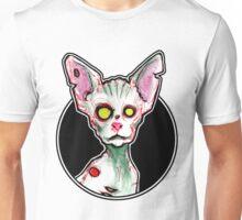 Zombie Sphynx Cat Unisex T-Shirt