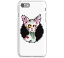 Zombie Sphynx Cat iPhone Case/Skin