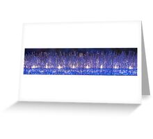 Upside down Icicles Greeting Card