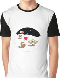 Ollie the Owl - Newfound Love & Broken Dreams Graphic T-Shirt