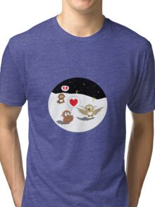 Ollie the Owl - Newfound Love & Broken Dreams Tri-blend T-Shirt
