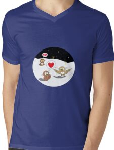 Ollie the Owl - Newfound Love & Broken Dreams Mens V-Neck T-Shirt