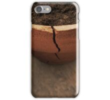 A Crack in the Terra Cotta iPhone Case/Skin