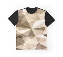 Geometric simple background with triangle shape Graphic T-Shirt