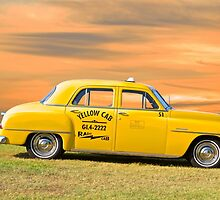 1951 Plymouth Sedan 'Yellow Cab' by DaveKoontz
