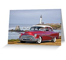 1953 Buick Special Coupe Greeting Card