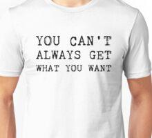 The Rolling Stones - Lyrics Unisex T-Shirt