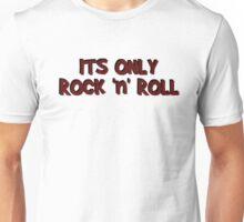 only rock n roll rocker cool led zeppelin punk rock pop star rebel biker hippies hippie punk rock cool t shirts Unisex T-Shirt