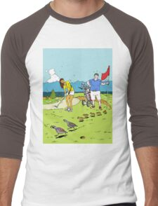 A surprise on the golf course Men's Baseball ¾ T-Shirt