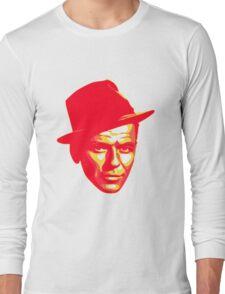 Frank Sinatra Print Long Sleeve T-Shirt