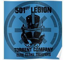 501st clone trooper legion Poster