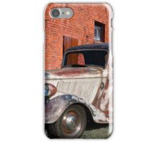 1934 Ford 'Patina Plus' Coupe iPhone Case/Skin