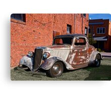 1934 Ford 'Patina Plus' Coupe Canvas Print