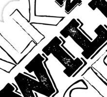 lou reed velvet underground walk on the wild side lyrics song rock n roll guitarist guitar t shirts Sticker