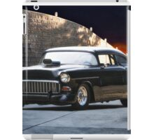 1955 Chevrolet 'One Sinister Chevy' iPad Case/Skin