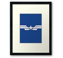 Captain America Winter Soldier  Framed Print
