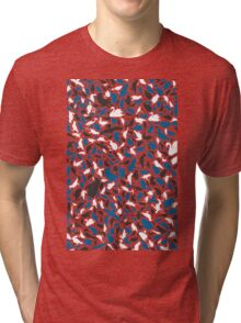 Background of birds Tri-blend T-Shirt