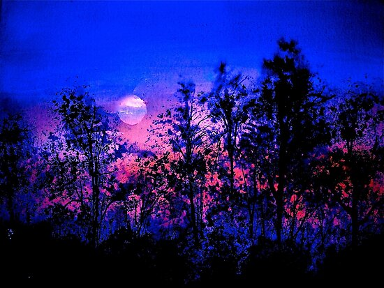 Another Blue Night by © Janis Zroback