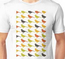 Background of birds2 Unisex T-Shirt