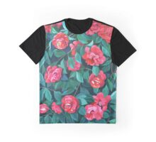 """Camellias, lips and berries"" Graphic T-Shirt"