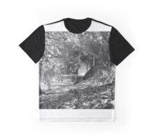 Autumn in B/W Graphic T-Shirt
