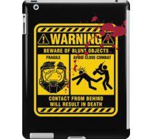 Mjolnir Warning Label iPad Case/Skin