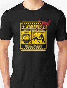Mjolnir Warning Label T-Shirt