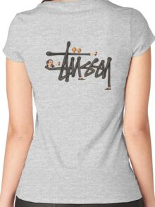 Stussy Women's Fitted Scoop T-Shirt