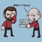 Make It Sew! - Star Trek Inspired by 8-bit-hobo