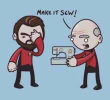 Make It Sew! - Star Trek Inspired by 8-bit-hobo
