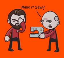 Make It Sew! - Star Trek Inspired Kids Tee