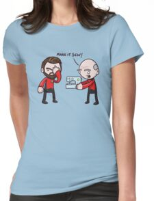 Make It Sew! - Star Trek Inspired Womens Fitted T-Shirt