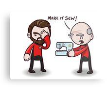 Make It Sew! - Star Trek Inspired Metal Print