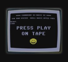 C64 - Press Play on Tape Kids Tee