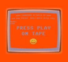 C64 - Press Play on Tape Kids Tee