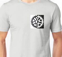half invert color bmx sprocket Unisex T-Shirt