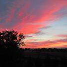 Franklin County, Pennsylvania Sunrise by Kimberly Scott