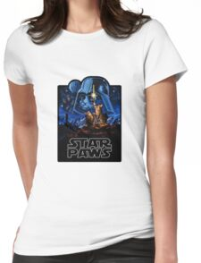 Star Paws Womens Fitted T-Shirt