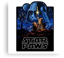 Star Paws Canvas Print