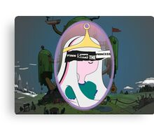 Finn Saves The (Bubblegum) Princess Canvas Print