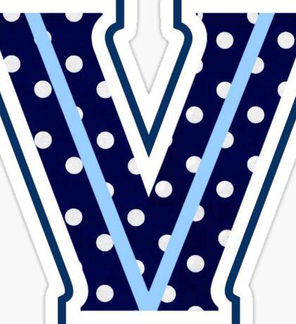 villanova Sticker