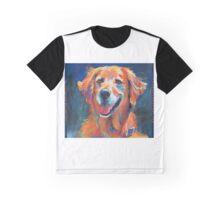 Happy Dog Graphic T-Shirt